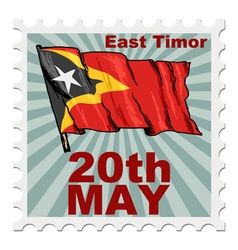 National day of east timor vector