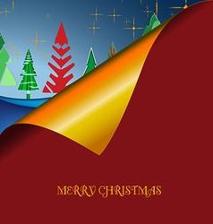 Christmas wish tree vector