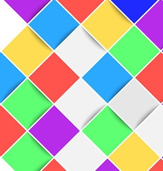 Bright web color tile background layout vector