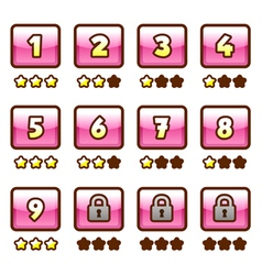 Pink level selection vector