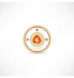 Cycle symbol icon vector