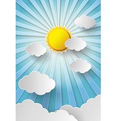 Sun shine vector