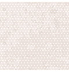Vintage background dots pastel seamless pattern vector