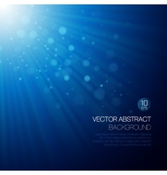 Background with glowing rays vector