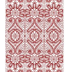 Beautiful delicate openwork lace vector