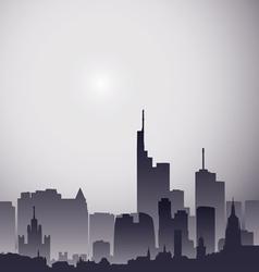 City gray vector