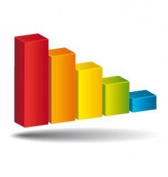 Colorful diagram vector