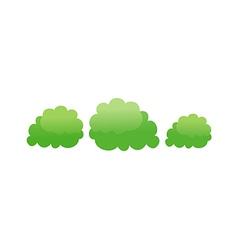 Icon bush vector