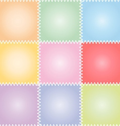 Seamless patchwork or quilt pastel vector