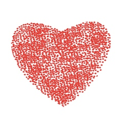 Heart from fragment vector