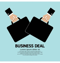 Business deal vector