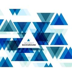 Triangle geometric concept vector