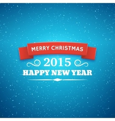 Christmas typography background vector