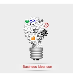 Business idea icon vector