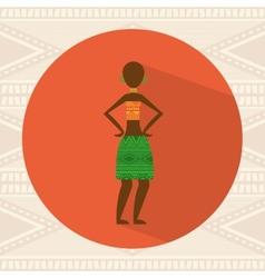 African culture vector