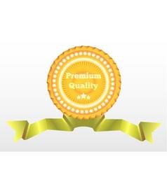 Premium quality label eps10 vector