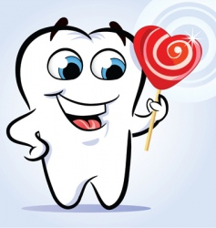 Tooth sweet vector