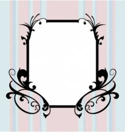 Ugly frame vector