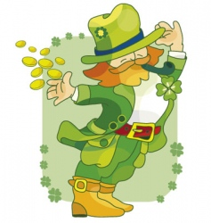 St patrick paddy vector