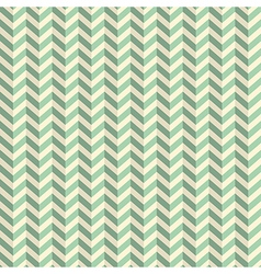 Seamless retro abstract green toothed zig zag vector