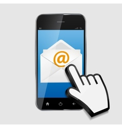 Design concept email write icon vector