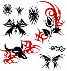 Tattoo vector