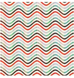 Seamless wave pattern vector