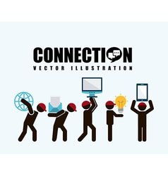 Social net working vector