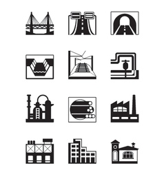 Various types of construction vector