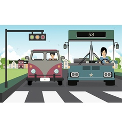 Crosswalk vector