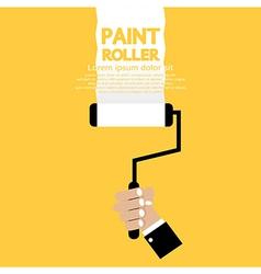 Paint roller vector