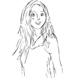 Girl vector
