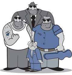 Mafia group vector