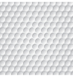 Golf ball pattern vector