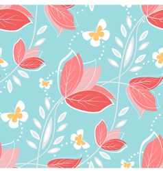 Coral flowers vector