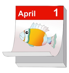 First of april vector