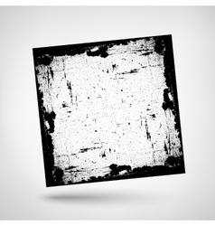 Textured frame grunge vector