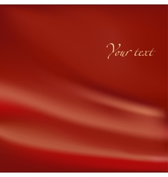 Abstract background red material with folds vector