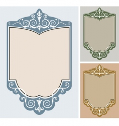 Set of frames vector