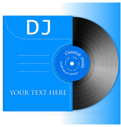 Design vinyl record vector
