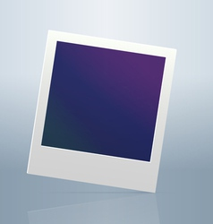 Instant blanc photo frame vector