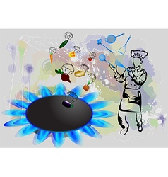 Magic cooking vector