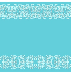 Pattern decorative background blue vector