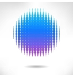Abstract background from blue halftone vector