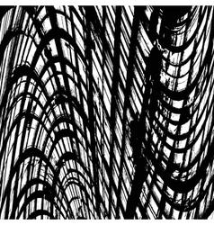 Texture abstract wavy grid vector