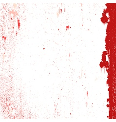 Red messy grunge vector