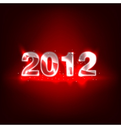 2012 new year numbers vector