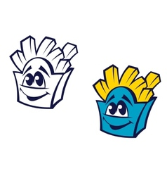 Fast food potato snack vector