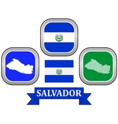 Symbol of salvador vector