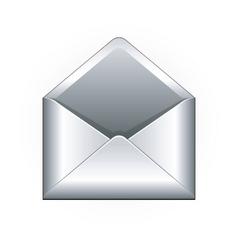 Letter envelope vector